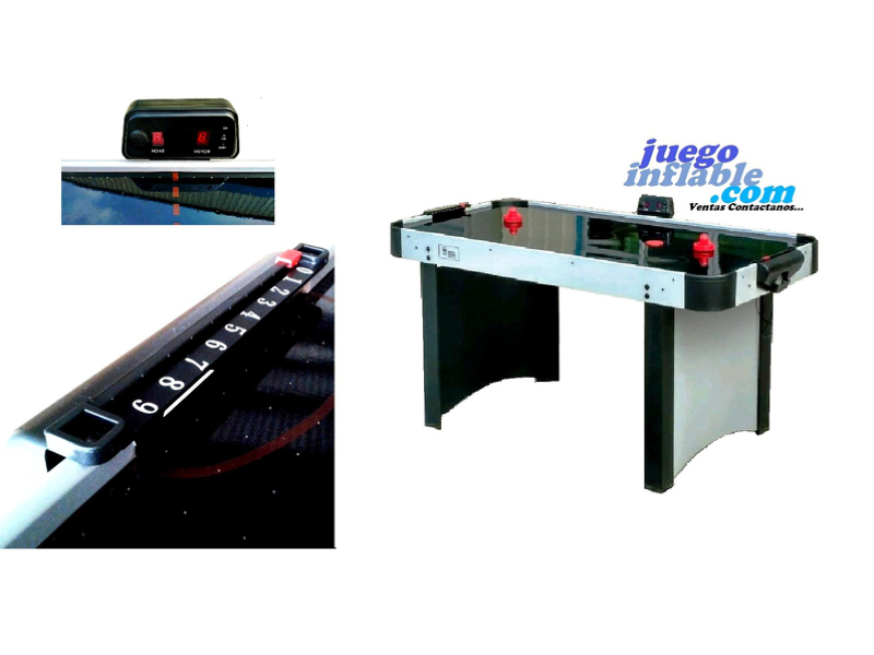 Mesa Air Hockey con Marcador Digital