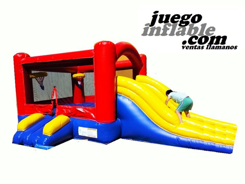 Castillo Inflable Basquet