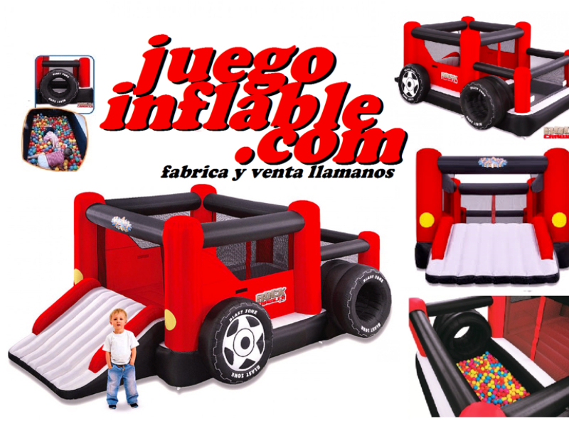jeep castillo juego inflable
