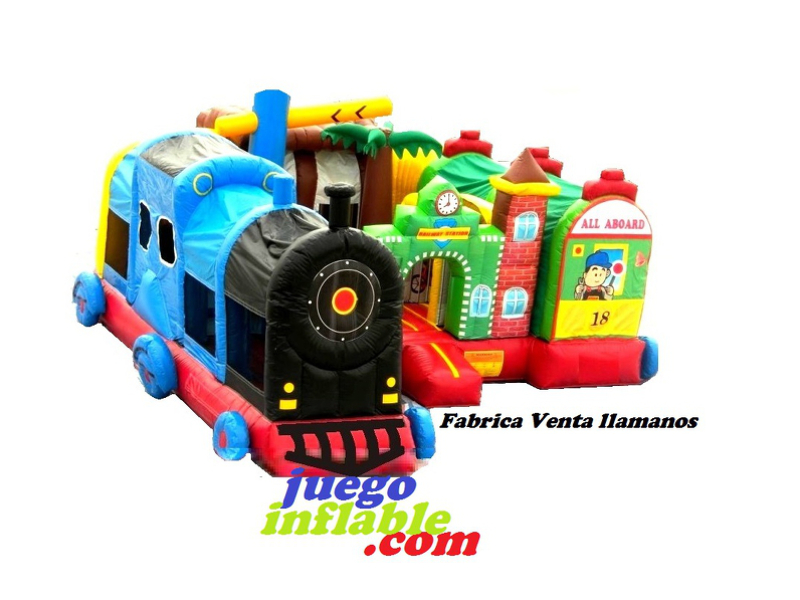 Estación Trenes inflable