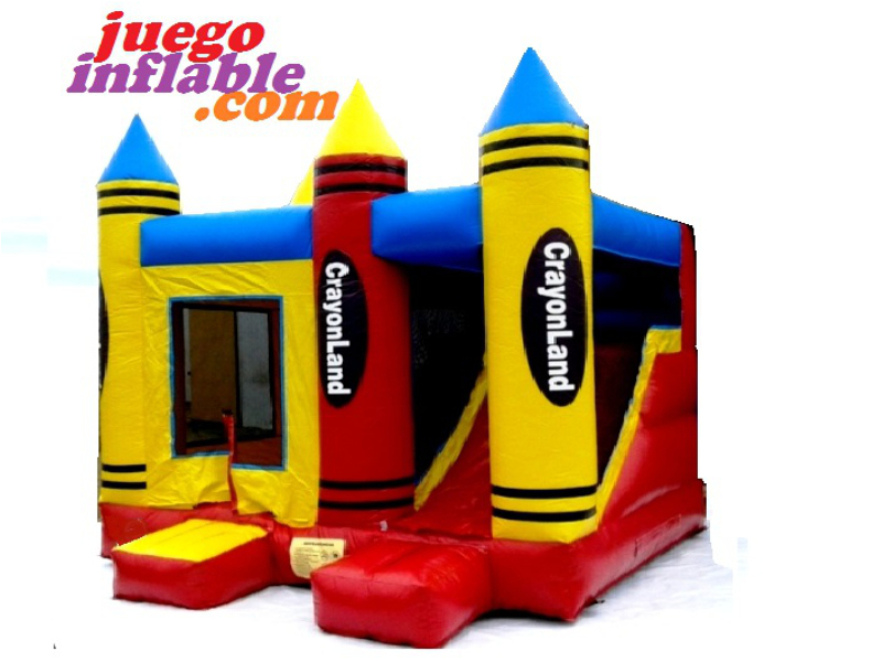 Castillo Inflable  Crayon
