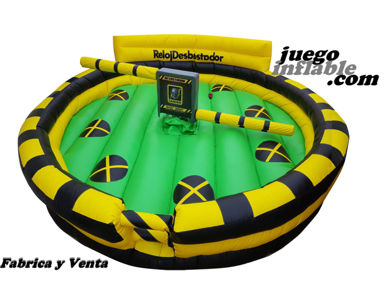 RELOJ DERRIBADOR SHOTDOWN INFLABLE DEMOLEDOR ELIMINADOR